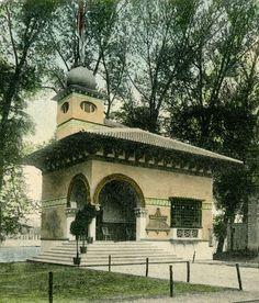 Montenegro pavilion at Expo 1905 Liege