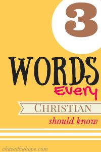 """There are three words every Christian should know, and always have at the forefront of their minds. Three words, one phrase: """"God is love."""""""