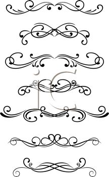Swirls Clipart Selection