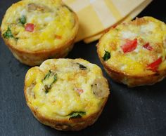 Egg Muffins : Multiply Delicious- The Food