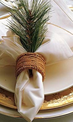 Decoração de Natal - Mesas para Ceia de Natal
