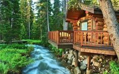 Log cabin home. Perfect! by Darío SP