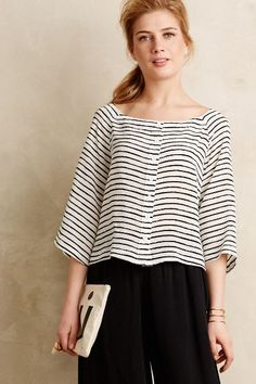 Au Revoir Silk Blouse - anthropologie.com #anthrofave