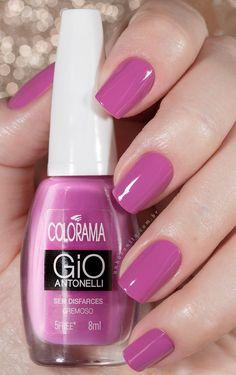 Gio III - Poder da Cor | Gio Antonelli Colorama | Swatches - Unha Bonita