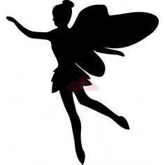 Fairy Silhouette Template