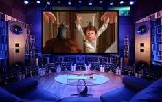The ULTIMATE Home Theater Picture & Sound System ... at Kipnis Studios (KSS)™