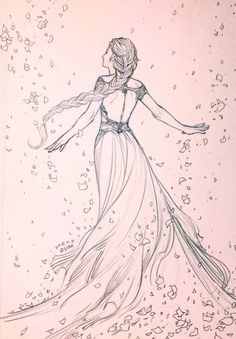 Aelin-Throne of Glass Girl Drawing Sketches, Girly Drawings, Art Drawings Sketches Simple, Pencil Art Drawings, Easy Drawings, Girl Sketch, Illustration Inspiration, Pencil Drawing Inspiration, Illustration Girl