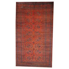 Found it at Wayfair - Balouchi Rust/Navy Area Rug