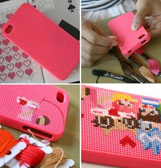 Stitchable Smartphone Case! by sesi-for-kids