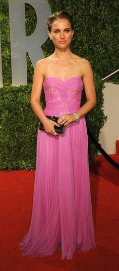Natalie Portman in Rodarte at the 2009 Oscars