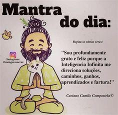 Yoga Mantras, Yoga Meditation, Positive Mind, Positive Words, Affirmation Quotes, Good Thoughts, Spiritual Quotes, Positive Affirmations, True Quotes