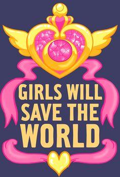 lisasterle: Sailor Moon Girls Will Save the World