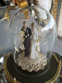 Cloche also known as a bell jar Maybe by the guestbook