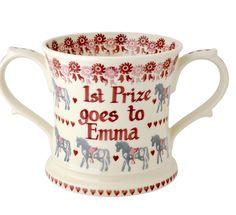 Emma Bridgewater Pony Personalised Two Handled Mug 2014