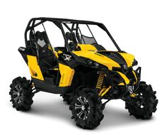 Maverick 1000 X mr Side-by-Side Features: Mud-Performance Tires, Front and Rear ACS, Air Assist Shocks and more | Can-Am Off-Road US
