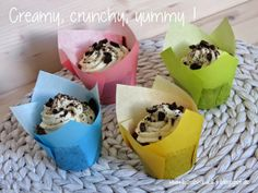 Oreo-Cupcakes mit bestem Creamcheese-Frosting | bambi backt
