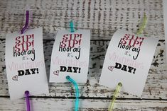 Sip Sip Hooray Valentine's Day Silly Straw Craft Idea - BargainBriana