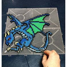 Dragon hama beads by dibujosmios_