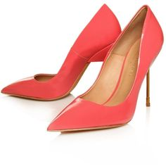 Kurt Geiger London Elliot ($82) ❤ liked on Polyvore featuring shoes, pumps, heels, обувь, sapatos, heel pump, leather sole shoes, kurt geiger shoes and kurt geiger