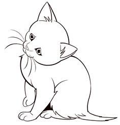 How to draw animals: Easy kitten | ArtistsNetwork.com