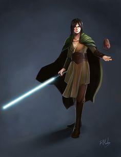 Kiffar Jedi Knight by rodmendez.deviantart.com on @deviantART