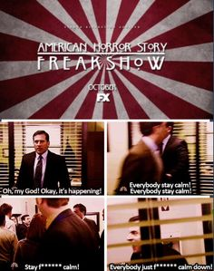 American Horror Story: Freak Show the office humor