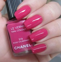 """3 May - 22 May 2012. Toes: Chanel in #519 Rose Exubérant (Fall 2011 """"Rouge Allure Velvet"""" collection). $25."""