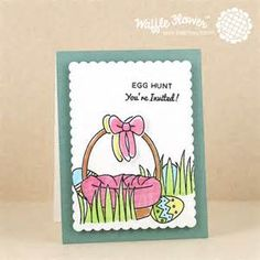 Waffle Flower Egg Hunt Stampy - - Yahoo Image Search Results