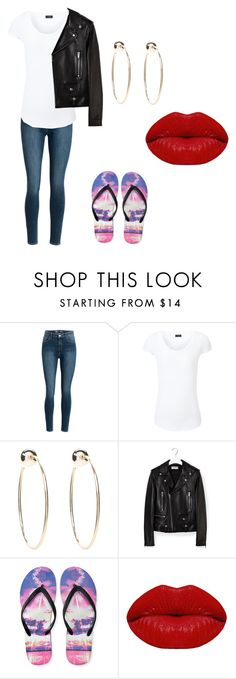 """Twin spirit day outfit"" by olivia-weissman on Polyvore featuring Joseph, Bebe, Yves Saint Laurent, Aéropostale and Winky Lux"