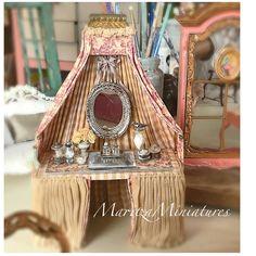 2017.12 Miniature Little Vanity  ♡ ♡By Maritza Miniature