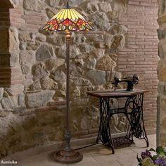 Lámpara de pie Tiffany: http://www.iluminika.com/Lampara-de-pie-Tiffany-COT14-FBB75.html