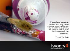"""MORNING SPOTLIGHT: """"If you hear a voice within you..."""""""