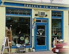 Sherry's on Main in Mt. Forest, Ontario, Canada