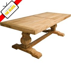 Schots salvaged timber tables are constructed out of reclaimed pine sourced from buildings over 100 years old. They are each finished in a thick beeswax to protect the naturally rustic finish of the table. To maintain this finish apply beeswax to the table regularly.