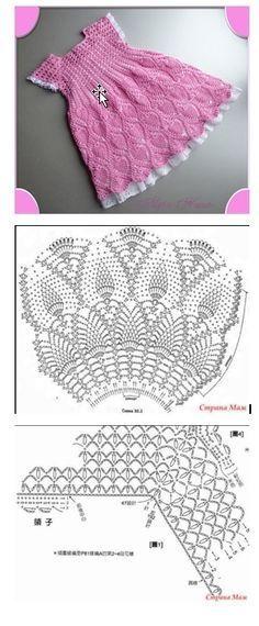 "Very nice crochet.. baby dress [   ""Very nice crochedet babydress"" ] #<br/> # #Annie"