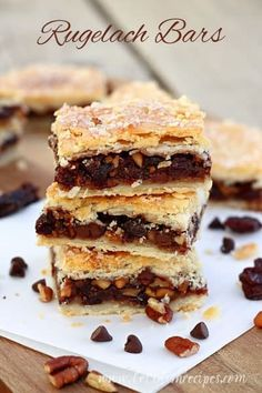 I love traditional rugelach. I've always shied away from making it myself, because it seems so labor intensive. So when I came across the idea for Rugelach Bars, I was hopeful. Theyturned out even better than I expected, with the perfect amount of filling and a nice flaky crust. I filled mine with a...Read More