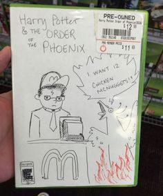 11 Funny Hand Drawn Video Game Cover Art Found At GameStop #compartirvideos.es…