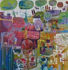 Charlie O'Sullivan, perfect, I love colors, optimism, it's just beautiful
