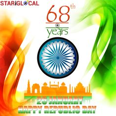"""""""Let us come together to salute our glorious nation and feel proud to be Indian"""" #JaiHind STARiGLOCAL Wishes Everyone A Very Happy #RepublicDay"""