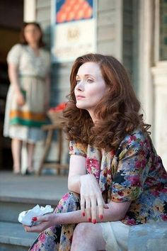 Essie Davis without her Miss Fisher bob