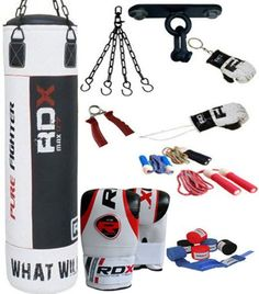 Shop RDX Filled Black Punch Bag Set, White, Free delivery and returns on all eligible orders. Football And Basketball, Liverpool Football Club, Professional Boxing, Boxing Punches, Christmas Gifts For Boys, Mma Boxing, Punching Bag, Leather Box, Boxing Training