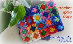 crochet ipad case tutorial