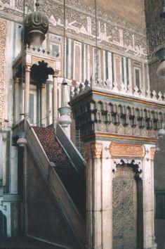 Minbar - Sultan Hassan Moschee