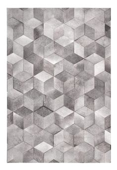 Patchwork cowhide rug CUBIC by LIMITED EDITION design Limited Edition Textured Carpet, Patterned Carpet, Fabric Textures, Textures Patterns, Interior Rugs, Patchwork Rugs, Fabric Rug, Cow Hide Rug, Modern Carpet