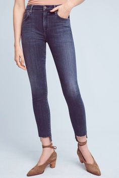 2d2dc43258acc Shop the Citizens of Humanity Rocket Hi-Lo Hem High-Rise Skinny Jeans and