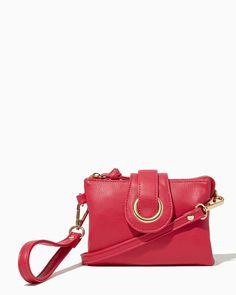 Jelena Crossbody Wristlet | UPC: 450900448103 Fuchsia, Pink, Rose, Hot Pink, Roseberry, Valentines
