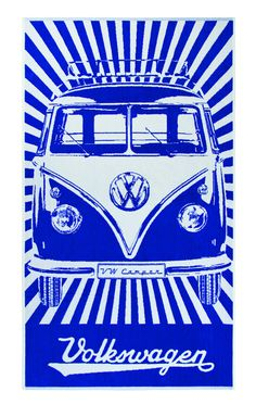 Introducing the new VW Bus Beach Towel collection! Choose from 4 different designs. There is no need for any other beach towel this summer! These towels are the perfect gift for any vw fan! - Official