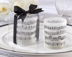 Your love for music will play on and on with this adorable frosted glass tea light holder. If you feel the music in your heart, share it with those who love you too!Features and facts:Frosted-glass tealight holder adorned with black sheet-music staff Glass Tealight Candle Holders, Glass Tea Light Holders, Candle Holder Set, Candle Set, Glass Candle, Tea Light Candles, Tea Lights, Candleholders, Elegant Wedding Favors