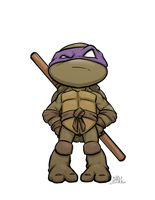 Chibi Donnie by Chadwick-J-Coleman on deviantART Cartoon Pics, Cute Cartoon Wallpapers, Cartoon Drawings, Ninja Turtles Art, Teenage Mutant Ninja Turtles, Ninja Turtle Tattoos, Ninja Party, Cute Panda Wallpaper, Chibi Characters
