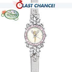 Tinker Bell's Reflections Of Time Women's Watch I want for Christmas HINT HINT!!!!
